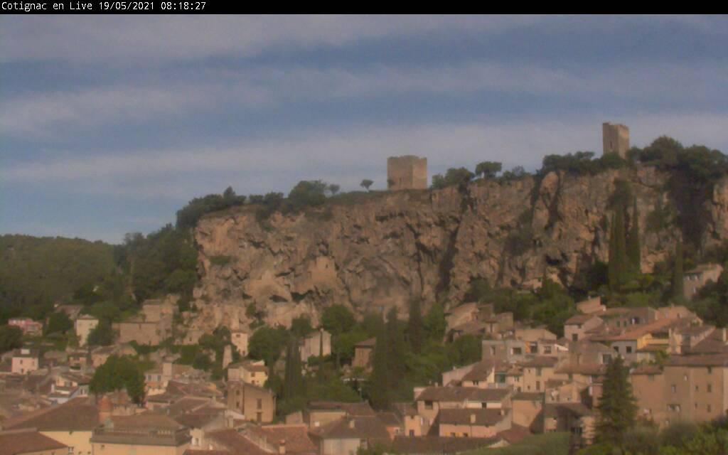 Webcam de Cotignac en Provence Verte